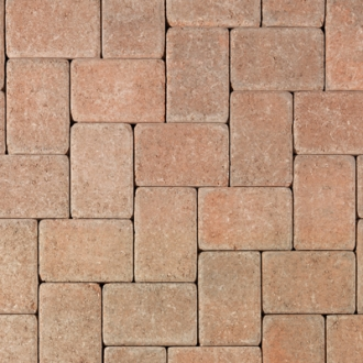 Tumbled Blended Cream Terracotta Brown