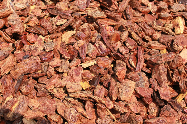 Redwood Bark Chips ~ Bark arroyo building materials quality supplies