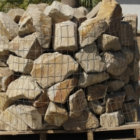 "Blonde Sandstone Rubble 6""-9"""