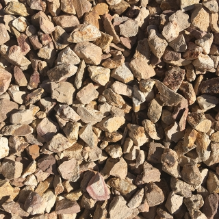 "Beige 3/4"" Decorative Rock"