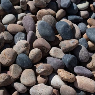 "Mex Beach Pebbles 1/2"" – 1"" mix"