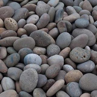 "Mex Beach Pebbles 1"" – 2"" buff"