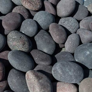 "Mex Beach Pebbles 1/2"" – 1"" Red"