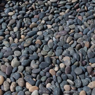 "Mex Beach Pebbles 3/8"" – 5/8"" mix"