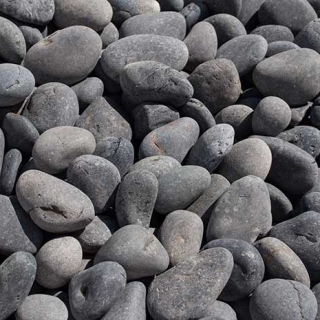 "Mex Beach Pebbles 1/2"" – 1"" black"