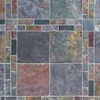 Rajah Peacock Tile