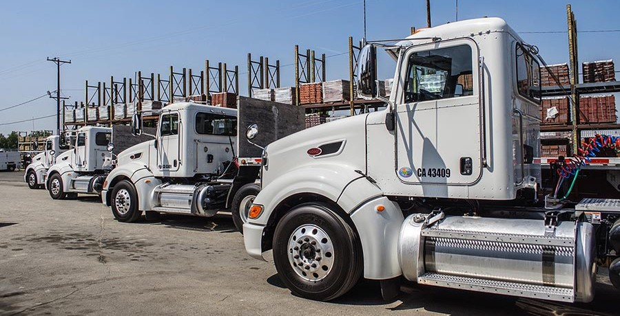 Going Green: Company Adds Five Clean Idle Trucks To Fleet