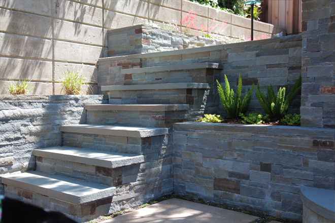 Low-Maintenance Bluestone Beauty